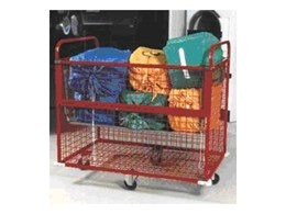 Masco Model BLHT- LGE Cage Trolleys from Laundry Systems Group