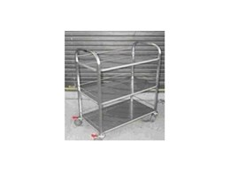 Masco Model KT 3 Kitchen style trolley from Laundry Systems Group