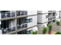 MasterWall polystyrene wall panel system from PracticaMMC used for Ivanhoe apartments