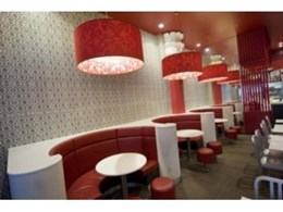 Mayfield Lamps Melbourne KFC project