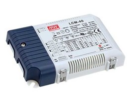 Mean Well LCM Series versatile constant current LED drivers