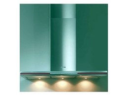 Miele DA6290W wall mounted canopy rangehoods with LED glass edge lighting available from Designer Homeware