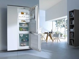 Miele fully integrated refrigeration range offering professional storage at home