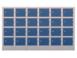 Mini lockers available from Davell Products