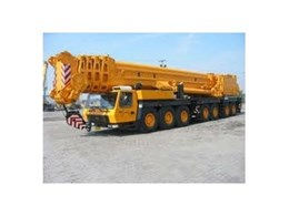 Mobile crane inspection services from Australian Inspection Logistics