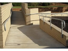 Moddex Group's Assistrail disability compliant handrails meet new Disability Standards