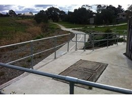 Moddex galvanised handrails and guardrails ensure pedestrian safety at South Morang Rail Extension