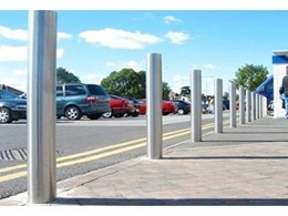 Model 125 stainless steel bollards from DO Smith