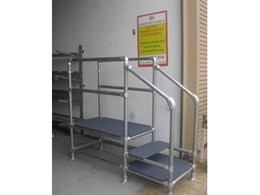 Modular walkways by AHSES available from Solid Dynamics