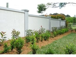 Modular wall panels from Wallmark help create garden feature walls with soundproofing