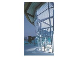 Moduline curtain wall systems available from Smoke Control