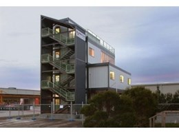 Modulink modular multi level offices available from Ausco Modular
