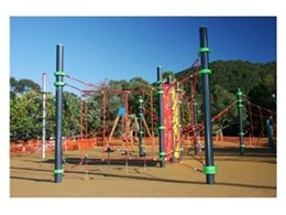 Moduplay Commercial Play Systems install playground equipment at Stanwell Park Beach