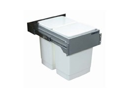 Monaco 60 litre dual capacity recycling bins available from Kimberley Products