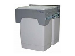 Monaco dual capacity recycling bins available from Kimberley Products