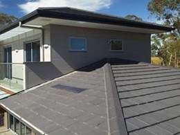 Monier concrete roof tiles offer thermal benefits at 8 star rated CSR House