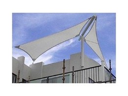 Moodie Ausafe durable shade sails available now from Moodie Outdoor Products