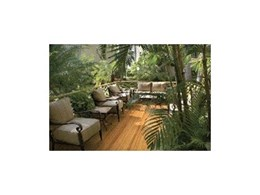 Mosowood bamboo decking from Bamboo and Timber Select