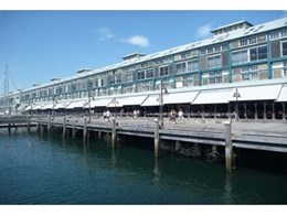 Motorised awnings fitted at Finger Wharf