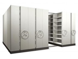 Multibay Compactus mobile based storage systems available from Dexion
