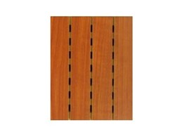 Murano Acoustics range of acoustic timber panels from Sontext