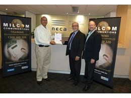 NECA partners with Milcom Communications to deliver affordable training