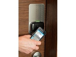 NFC-enabled smart phones used for keyless entry and mobile lock control