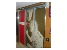 NGA Parents room automated door systems from ADIS Automatic Doors