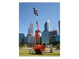 NIGHTSHIFTER mobile lighting tower by Allight Pty Ltd shines as a finalist in Australian Design Awards