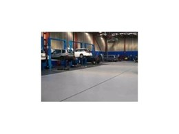 NRMA uses Flowcrete Australia's Flowcoat SF41 floor coating