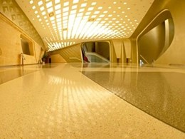 Nanjing Youth Olympics Centre gets the Flowcrete floor treatment