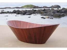 Natural solid wooden bathtubs from Wood & Water