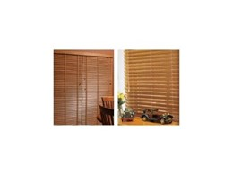 Natural timber venetian blinds from Accent Blinds