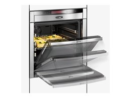 Neff Slide and hide hydro-clean ovens available from Designer Homeware