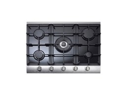 New Aria black glass cooktops available from Omega Appliances offer a new style option for the kitchen
