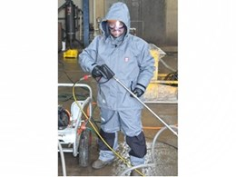 New Aussie high pressure protection clothing providing safety with pressure cleaners