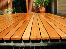 New Deck decking from Radial Timber Sales