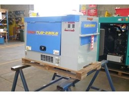 New Denyo TLW230LS diesel welder from Redstar
