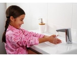 New Enmatic electronic hands-free tapware from Enware Australia offers hygiene, water savings and comfort