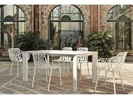 New Grande Arche aluminium table now in Australia