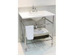 New Hawthorn Hill basin stands now available from The English Tapware Company