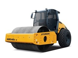 New Hyundai vibratory rollers to be launched in Australia