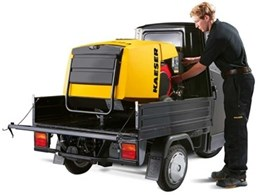 New Kaeser Mobilair portable compressors for smaller air requirements