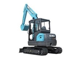 New Kobelco SK55SRX Mini Excavators to be Launched at Civenex 2011