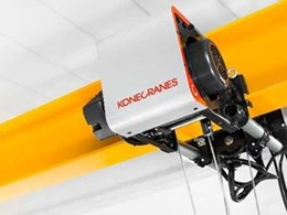 New Konecranes CXT UNO crane offering exceptional cost efficiency and ease of maintenance