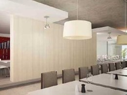 New Laminex Clipwall wall panels to revolutionise commercial interiors industry