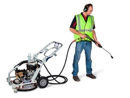 New Makinex dual pressure washer DPW-2500 is lighter and more compact
