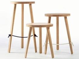 New Mariner stools designed by Ben Wahrlich