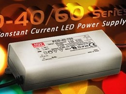 New MeanWell constant current LED power supplies in higher power models