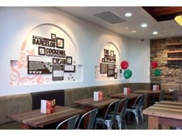 New Nandos Store chooses CraftStone from Austech External Building Products